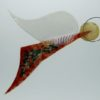 Glasengel Engel Flug dunkelrot Baum 1