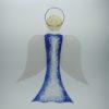 Glasengel Engel groß Kristall blau 1