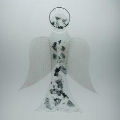 Glasengel Engel groß Metall 1