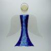 Glasengel Engel groß dunkelblau blau 2 1