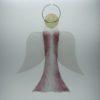 Glasengel Engel groß rose Baum 1
