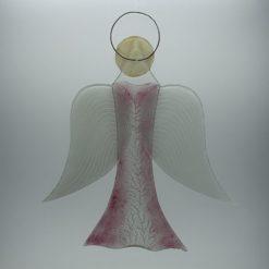 Glasengel Engel groß rose Baum 3