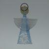 Glasengel Engel klein Kristall hellblau 1