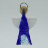 Glasengel Engel klein dunkelblau blau 1