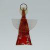Glasengel Engel klein dunkelrot rot 2 1