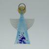 Glasengel Engel klein hellblau blau 1
