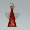 Glasengel Engel klein hellrot orange 1