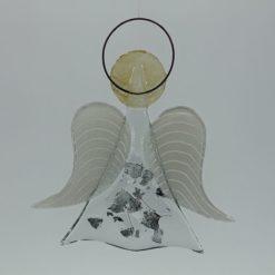 Glasengel Engel mittel Metall 2