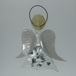 Glasengel Engel mittel Metall 3
