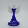 Glasengel Engel stehend oben dunkelblau blau 2 1