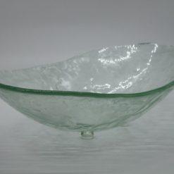 Glasschale Oval Transparent 2
