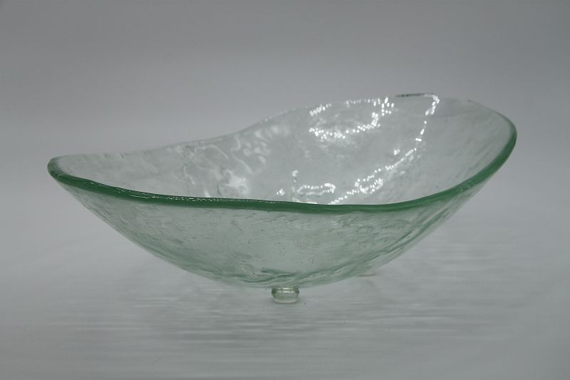 Glasschale Oval Transparent 2