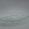 Glasschale Pistazie Lufteinschlüsse Matt 1