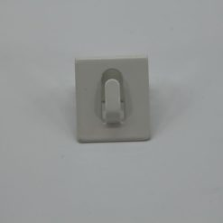 Glaszubehör Fensterhaken weiß 1