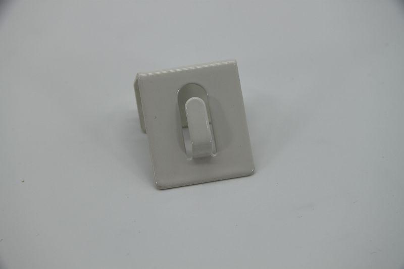Glaszubehör Fensterhaken weiß 4
