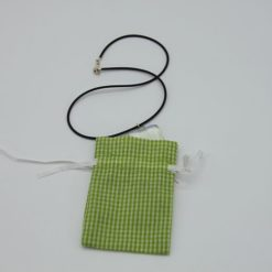 Glaszubehör Schmucktütchen grün 1