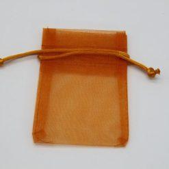 Glaszubehör Schmucktütchen orange 1