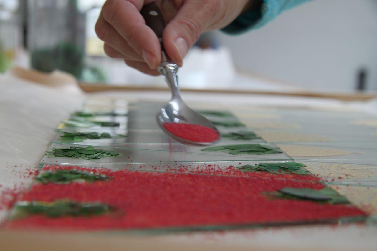 Herstellungsprozess von Glasengeln