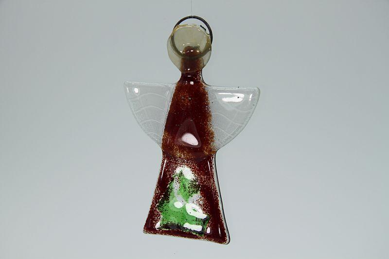 Glasengel-Engel-klein-dunkelrot-grün-10010-3