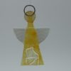 Glasengel Engel klein Kristall gelb 1
