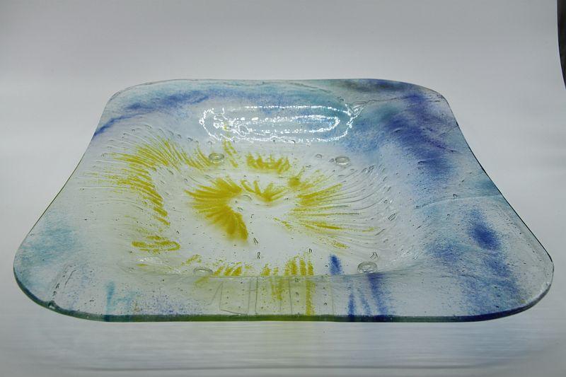 Glasschale wie schön Sonne 2