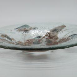 Glasschale Rund Metall tief 2