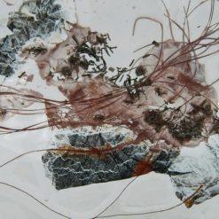 Glasschale Rund Metall tief 4