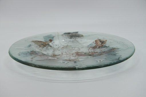 Glasschale Rund Metall 1