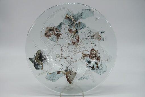 Glasschale Rund Metall 5