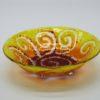 Glasschale klein Sonne rot-gelb 1