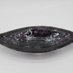 Glasschale Pistazie Metall schwarz 4