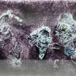Glasschale Schiff Metall schwarz Matt 4