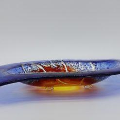 Glasschale Niere Sonne 2